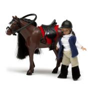Lundby komplekt tüdruk hobusega Småland