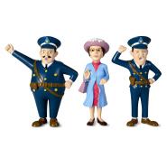 Pippi nukumaja nukud Daam ja 2 politseiniku