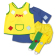 Pippi kostüüm 110-116 cm