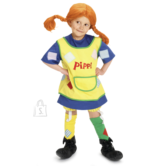 Pippi kostüüm 98-104 cm