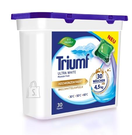 Triumf Ultra White pesukapslid valgele pesule 30 tk