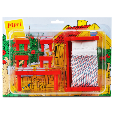 Pippi maja mööbel