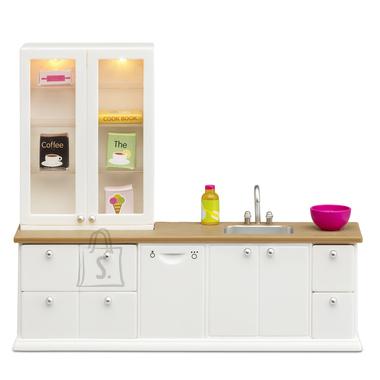 Lundby Köök valge + nõudepesumasin