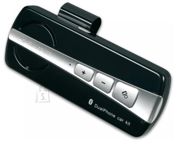 Cellularline CellularLine Bluetooth käedvaba kompl.autosse 2-le telefonile