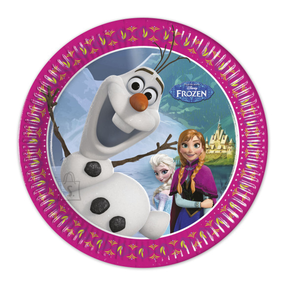 Kariboo Frozen taldrik 20cm/8tk.
