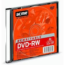 ACME ACME DVD-RW 4,7GB4x slim 1tk.