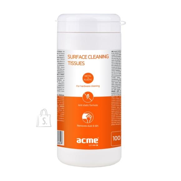 ACME Pealispinna puhastuslapid tehnikale, niisked, 100tk.