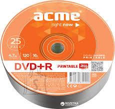 ACME ACME DVD+R 4,7GB/4x 25-torn prinditav EOL