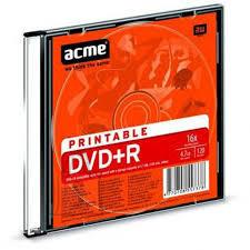 ACME ACME DVD+R 4,7 GB/16x prinditav slim EOL