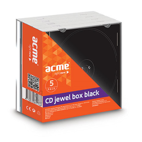 ACME ACME CD-karp jewel 5-pakk EOL