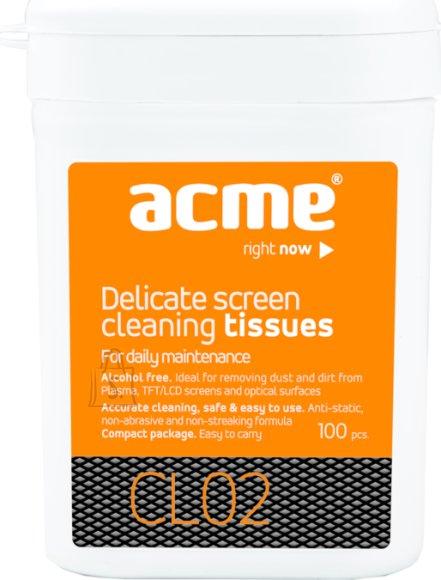 ACME ACME TFT puhastuslapid ekraanile 100tk purgis