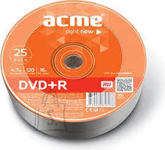 ACME ACME DVD+R 4,7GB 16x 25-torn