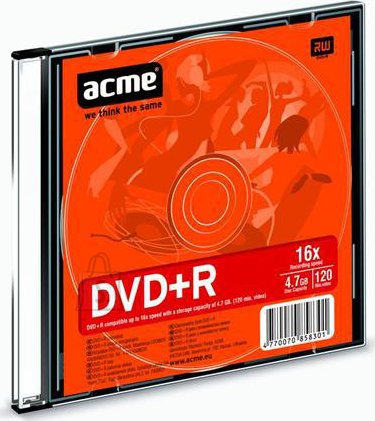 ACME ACME DVD+R 4,7 GB 16X Slim
