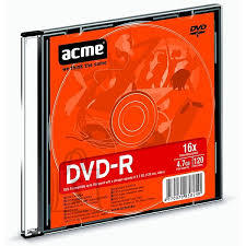 ACME ACME DVD-R 4,7GB/16x slim 1tk.