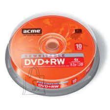 ACME ACME DVD+RW 4,7GB/4x 10-torn EOL