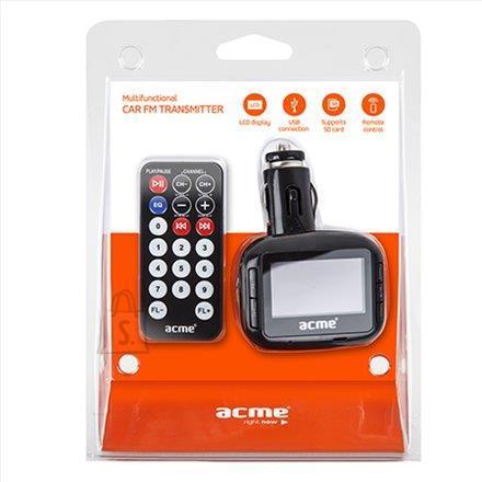 ACME ACME AF200-01 MP3-mängija raadiolainete edastaja ekraaniga autosse, USB pesa+pult