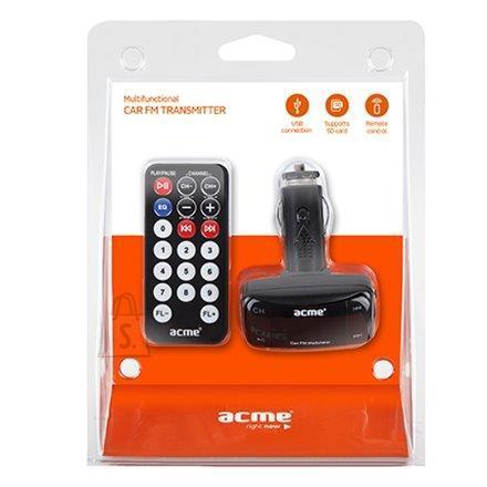 ACME ACME AF100 FM-transmitter autosse, USB ja SD pesa+pult