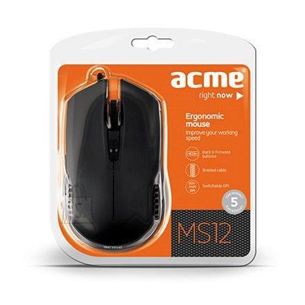ACME ACME MS12 juhtmega optiline hiir, USB