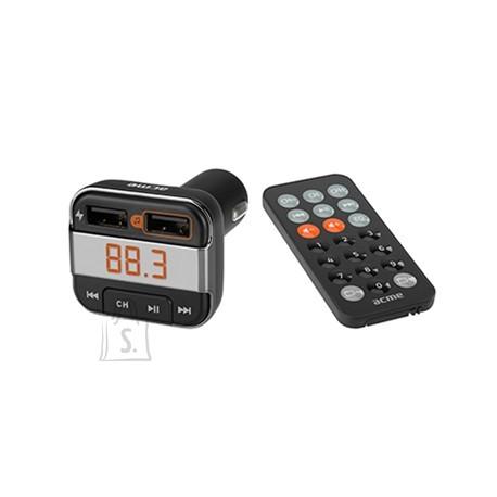 ACME FM-transmitter Bluetooth, USB laadimispesaga