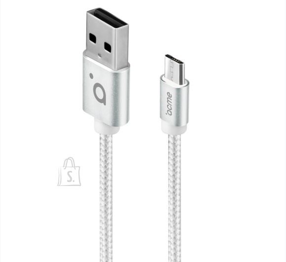 ACME Kaabel Micro USB, 1m, valge