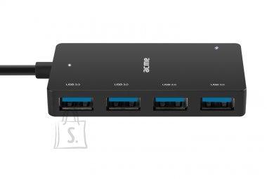 ACME Hub USB 4 pordiga, USB 3.0 Type-C