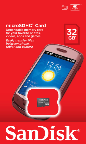 SanDisk SanDisk SD Micro HC 32 GB