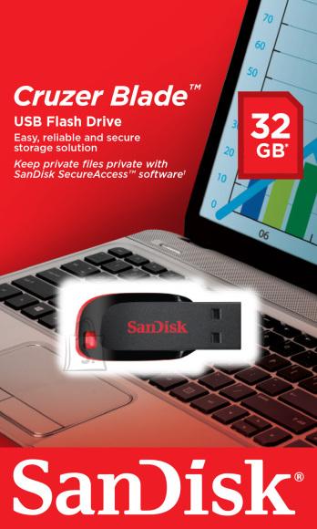 SanDisk SanDisk Cruzer Blade 32 GB