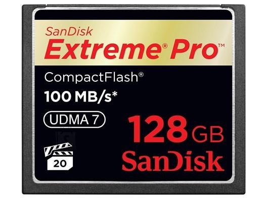 SanDisk Mälukaart Compact Flash Extreme Pro 128GB 160MB/s, UDMA7