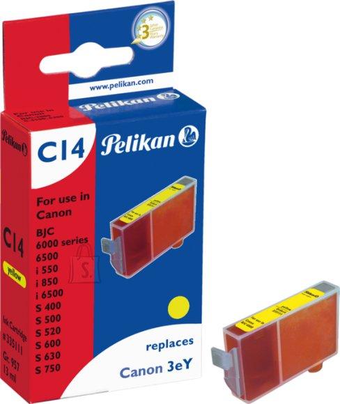 Pelikan Pelikan Canon BJC3000/6000 (BCI-3) kollane Gr.957 EOL