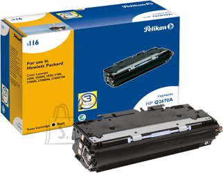 Pelikan Pelikan HP Color LaserJet 3500,3700, must (Q2670A) EOL