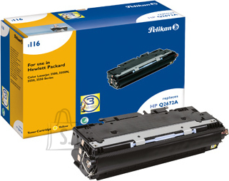 Pelikan Pelikan HP Color LaserJet 3500,3700, kollane (Q2672A) EOL