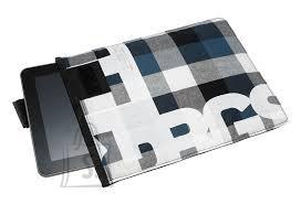 """Golla Golla tahvelarvuti tasku """"Chad"""" 10.1"""" sinine ruuduline (G1490) EOL"""