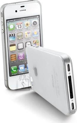 Cellularline Cellular iPhone 4/4S slim(0,35mm)ümbris,piimjas läbipaistev EOL