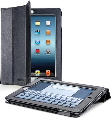 Cellularline Cellular iPad 2/3 ümbris, kunstnahk, magnetiga, must EOL