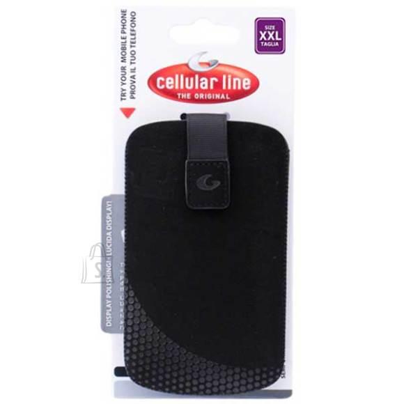 Cellularline Cellular mobiilitasku nutitelefonile XXL must