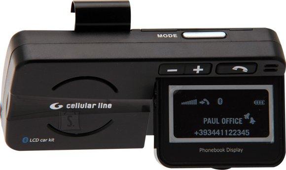 Cellularline CellularLine Bluetooth käedvaba kompl.autosse LCD ekraaniga EOL
