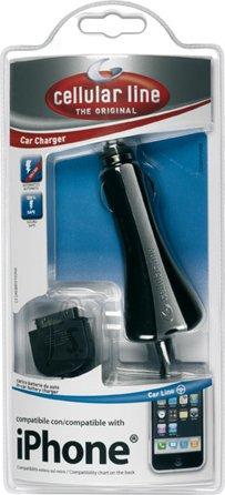 Cellularline Cellular iPhone spiraaljuhtmega autolaadija 12/24V EOL