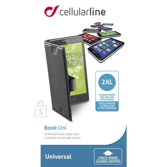 Cellularline Cellular nutitelefoni kaaned Book XXL must