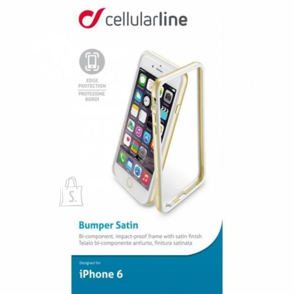 Cellularline Cellular Iphone 6 kaitseraam kuldne