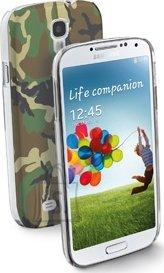 Cellularline Cellular Samsung Galaxy S4 ümbris, Army, roheline EOL