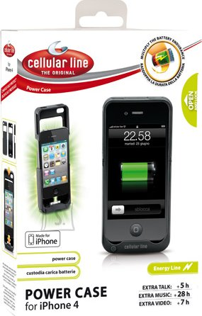Cellularline Cellular Line Powercase Iphone4/2s 2400mAh