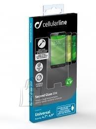 Cellularline Cellulari universaalne klaas kuni 4,9 tollisele telefonile