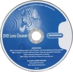 Bandridge Bandridge BSC264 DVD läätsepuhastus, 4 harja EOL