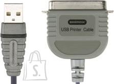 Bandridge Bandridge BCP5102 USB 2.0 A otsik–paralleel printer otsik 2m