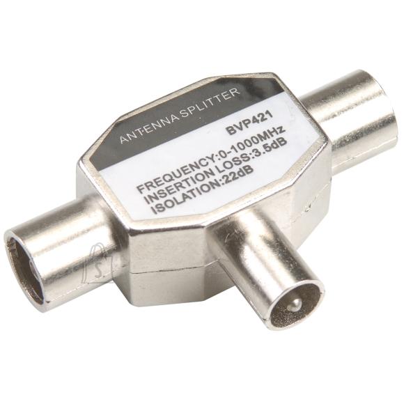 Bandridge Bandridge BVP421 Antennikaabli jagaja Coax pesa- 2xCoax otsik V-kujuline