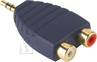 Bandridge Bandridge AP342 3,5mm otsik - 2xRCA pesa EOL