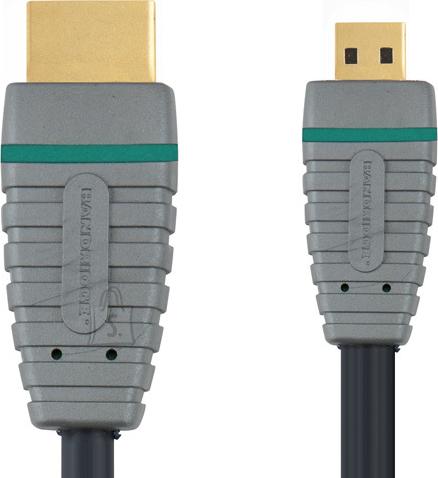 Bandridge Bandridge BVL1702 HDMI A otsik - HDMI micro otsik 1.4 2m