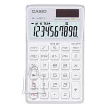 Casio Casio SL1100TV taskukalkulaator 10 numbrit, päike/patarei toide valge EOL