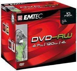 Emtec EMTEC DVD-RW 4.7GB 4x jewel EOL