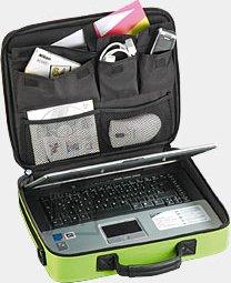 """Pataco\Aquip A-QUIP A/NC-1 sülearvuti kott 15,4"""" roheline EOL"""